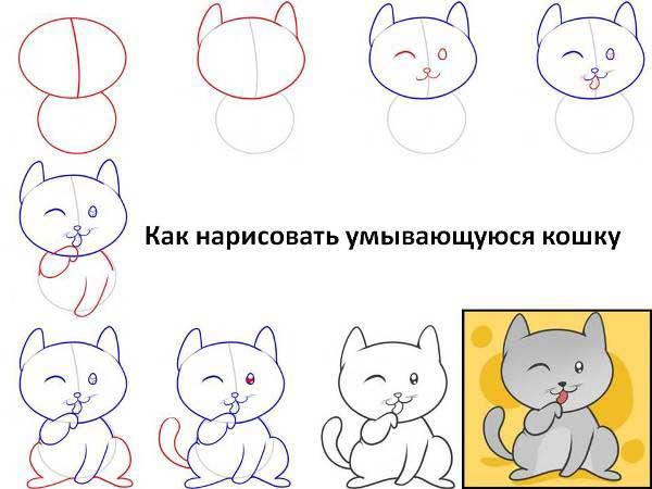 Как поэтапно делать рисунки